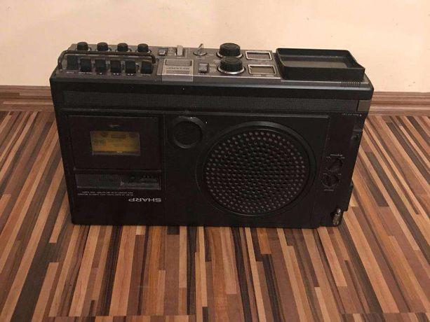 Sharp Radio Casette TV 5P-27G Antyk dla kolekcjonera