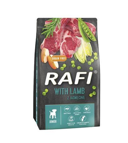 RAFI Karma dla psa 10kg - 1 szt - Jagnięcina JUNIOR