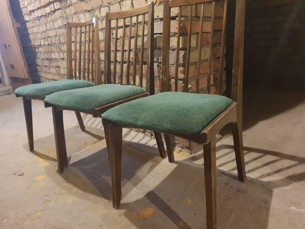 Krzesła Hałas prl 3 szt vintage
