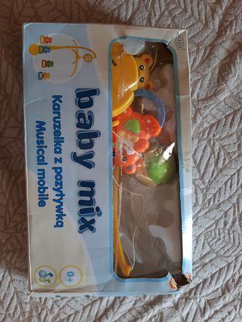Мобіль, дитяча карусель в кроватку, дитячі іграшки