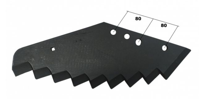 Nóż do paszowozu Kuhn A530.3620  530x8 mm Granit Germany