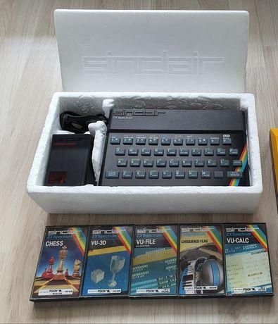 ZX Spectrum + Oryginalne Kasety z Programami