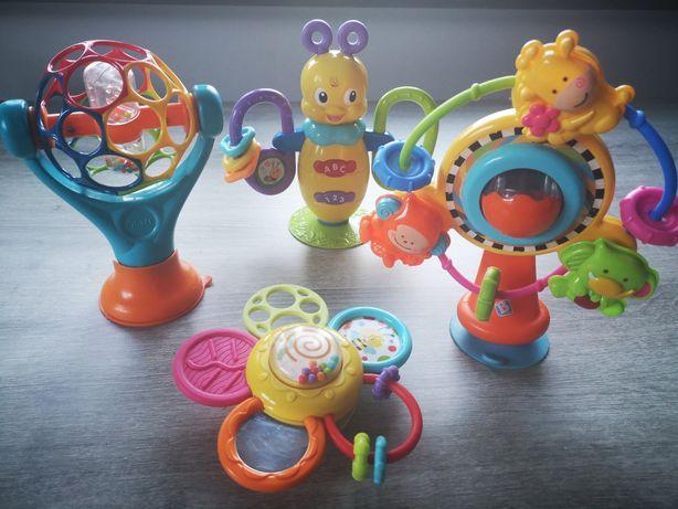Zestaw zabawek z przyssawkami