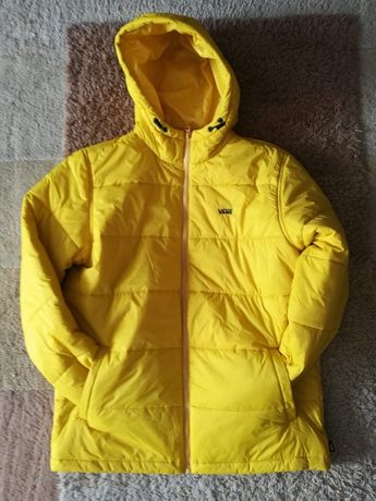 Kurtka marki VANS model WOODRIDGE, żółta, nowa, oryginalna.