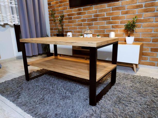 Nowoczesna ława w stylu LOFT, stolik kawowy 120x60