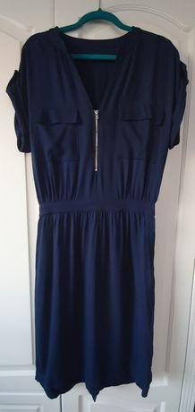 Sukienka midi koktajlowa Reserved r.36