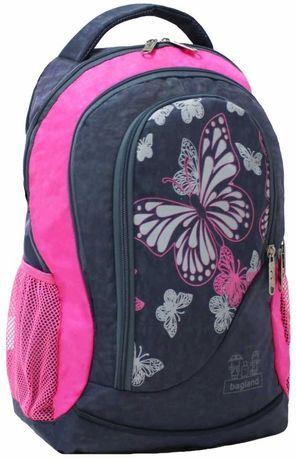Рюкзак ортопедический, школьный, для девочки - bаgland 21 литр