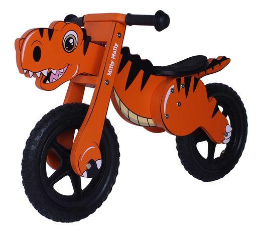 """Rowerek biegowy """"Mini Dino"""" Pomarańczowy"""