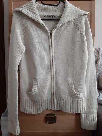 Beżowy sweter na zamek Orsay s
