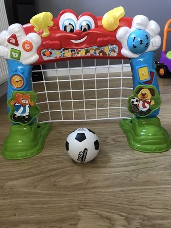 Clementoni edukacujna bramka piłka nożna