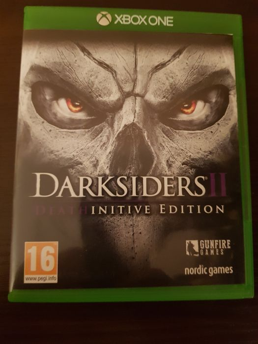 Darksiders 2 deathinitive edition xbox one Poznań - image 1
