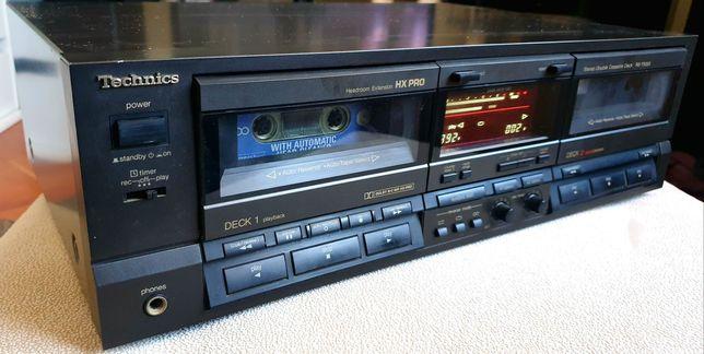 Deck/Leitor de Cassetes Duplo TECHNICS RS-TR355 (LER DESCRIÇÃO)