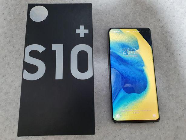 ИДЕАЛ Samsung Galaxy s10+ (Plus) DUOS 8/128Gb полный комплект + чехол