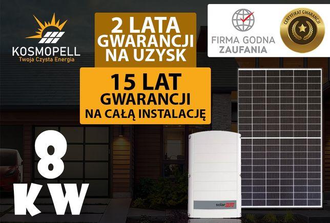 Instalacja fotowoltaiczna 8 kW - 15 Lat Gwarancji - Kosmopell.pl