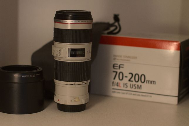 Obiektyw Canon EF 70-200mm f/4L IS USM
