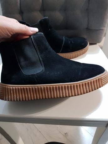 Buty ,kozaczki czarne