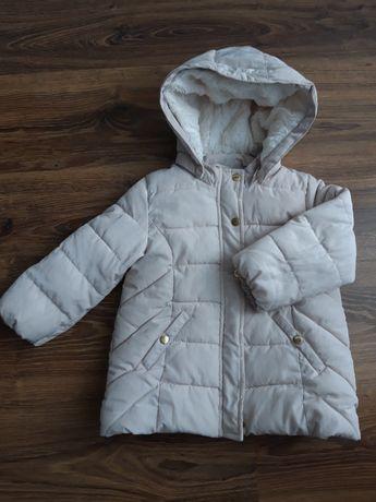 Kurtka zimowa dla dziewczynki H&M, rozmiar 92