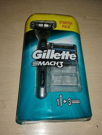 NOWY!!! Gillette Mach 3 starter pack