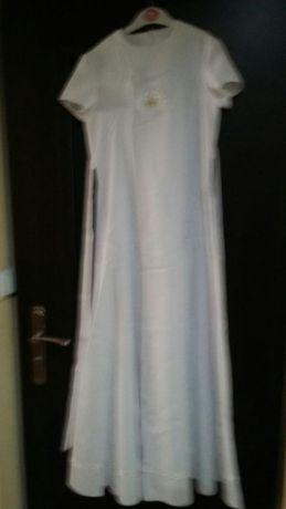 Sukienka komunijna+buciki białe