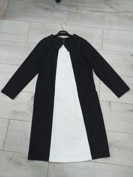 Trapezowa sukienka 38