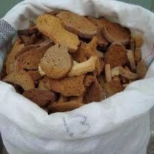 Сухари, корм для животных