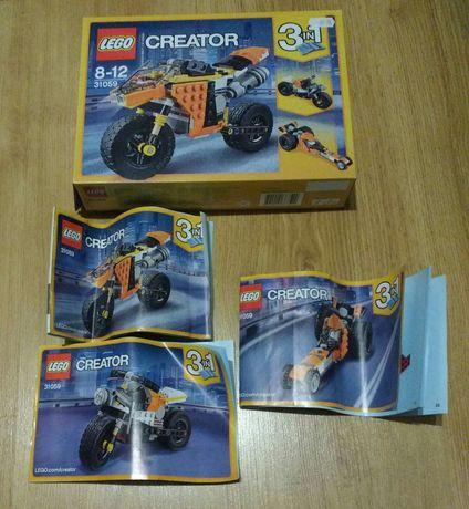 LEGO 31059 Creator Motocykl z Bulwaru Zach. Słońca