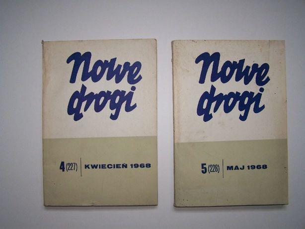 Nowe drogi miesięcznik z roku 1968