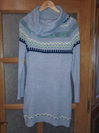 Трикотажне тепле плаття.Розмір 44/46