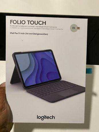 Logitech folio touch Ipad apple