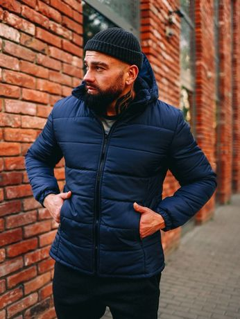 Куртка мужская зимняя пуховик ветровка Оплата при получении товара!