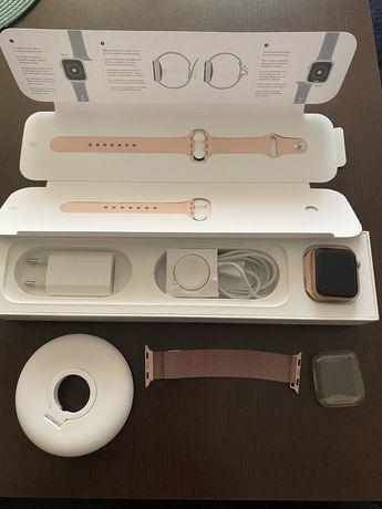 Apple watch 5 GPS 40mm aluminium zloty gwarancja + ubezpieczenie