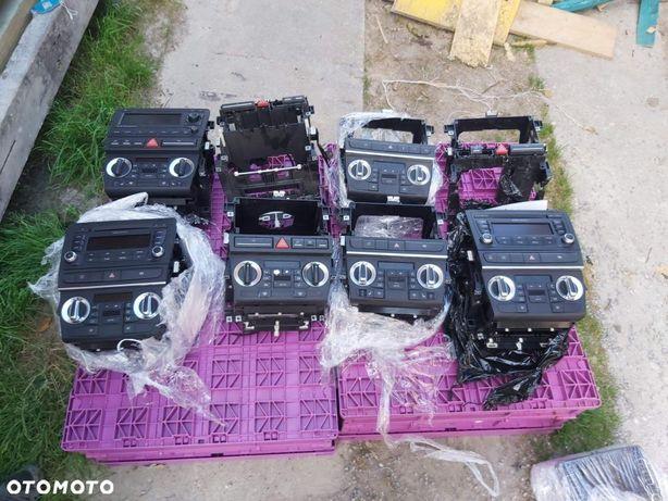 Kosz klimatronik radio 2din ramka zestaw caly audi a3 8p i 8p lift