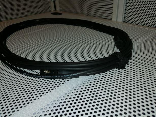 Klotz neutrik my206 złocone mikrofonowy sygnałowy xlr xlr 10 m