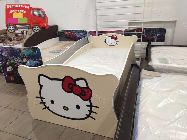 Детская Кровать / Кровать для Ребенка / Кроватка с бортиками/Рассрочка