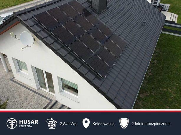 Praktycznie NIEPALNA instalacja fotowoltaiczna 4,97 kWp