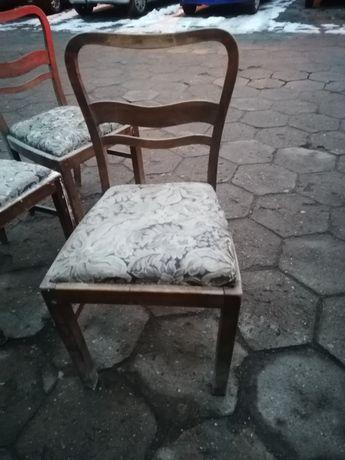Krzesła gięte PRL Radomsko 1945r