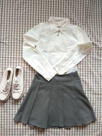 Рубашка блузка школьная