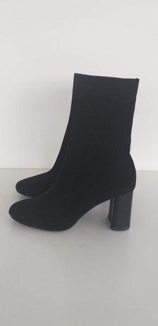Buty botki damskie Zara w rozmiarze 38