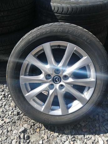 4x koła Mazda 6 GJ 17' 7,5X17 ET50 Opony letnie 225/55ZR17 XL 2014r