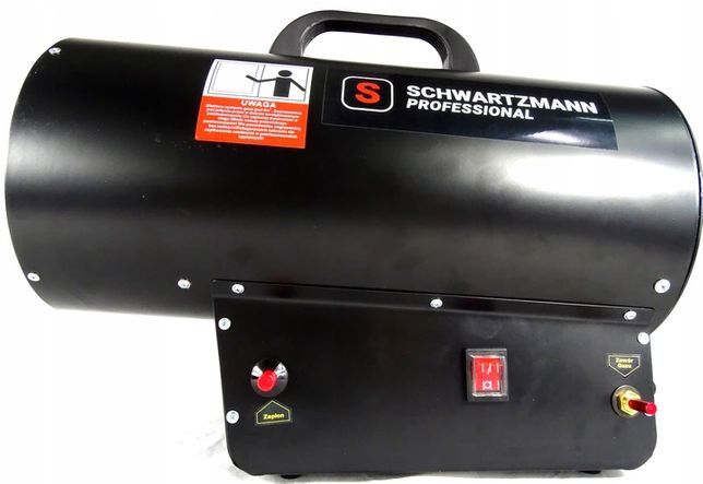 Nagrzewnica gazowa 30kW 650m3/h +wąż,reduktor serwis DOOR TO DOOR