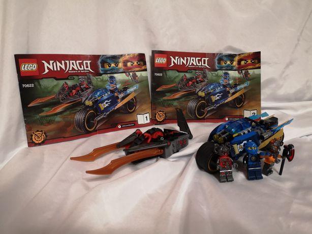 Lego Ninjago 70622 Pustynna błyskawica komplet jak NOWE