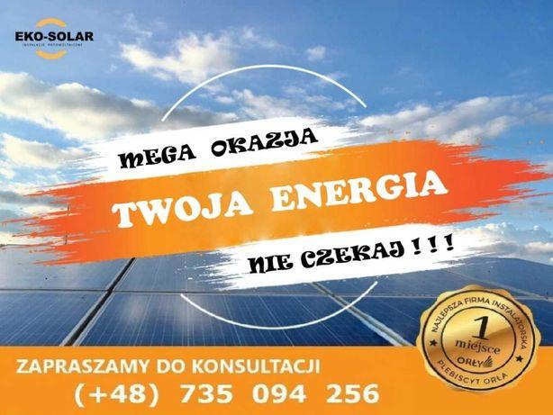 Fotowoltaika EKO-SOLAR instalacje fotowoltaiczne - Panele Słoneczne