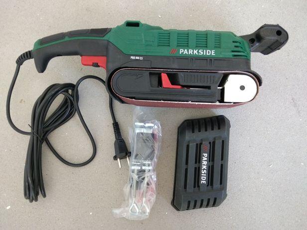 Szlifierka taśmowa parkside PBS 900 c3
