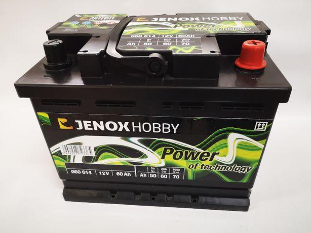 Akumulator Jenox Hobby 12V 60Ah P+ Łódź Kamper Motorówka Dowóz Kraków