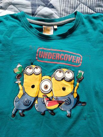 bluzka koszulka T-shirt  Minionki Minions Despicable Me Kevin Bob hit
