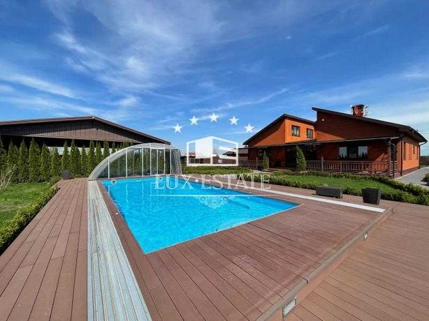 Аренда! 2 дома + дом-SPA на 45 сотках с бассейном ! Без комиссии!