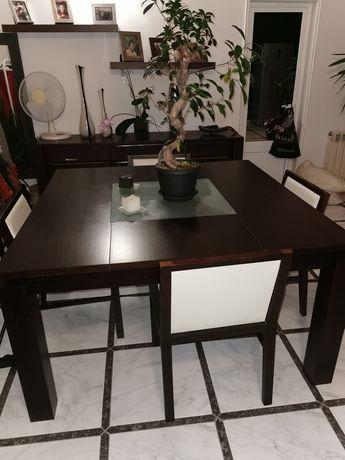 Mesa vengé de jantar