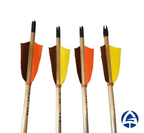 Деревянные стрелы для лука С7   Стрельба из лука