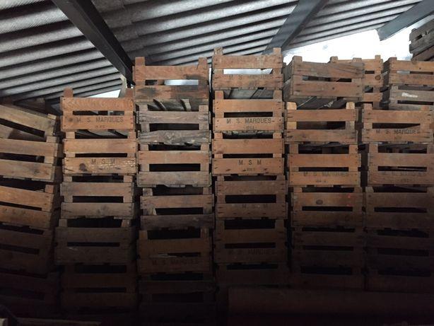 Caixas de fruta de madeira