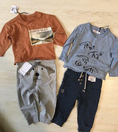 Одежда reserved на малыша новая (спортивные штаны, реглан)